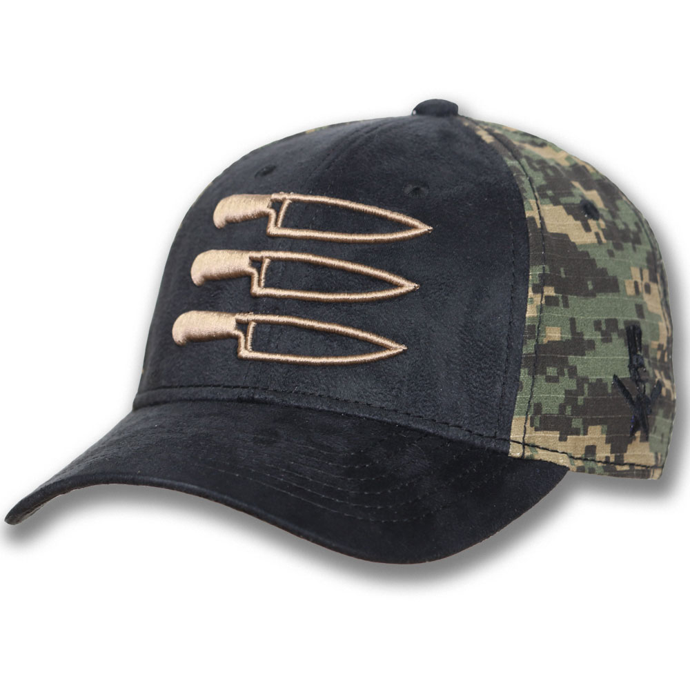 6bdcbc46a070f Knife Stripes Digital Camo Baseball Hat - Extreme Culinary Outfitters