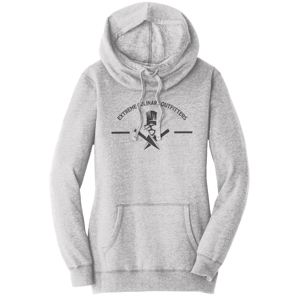 2d6b11a1dd835 Team ECO- Ladies Cowlneck Hoodie - Extreme Culinary Outfitters