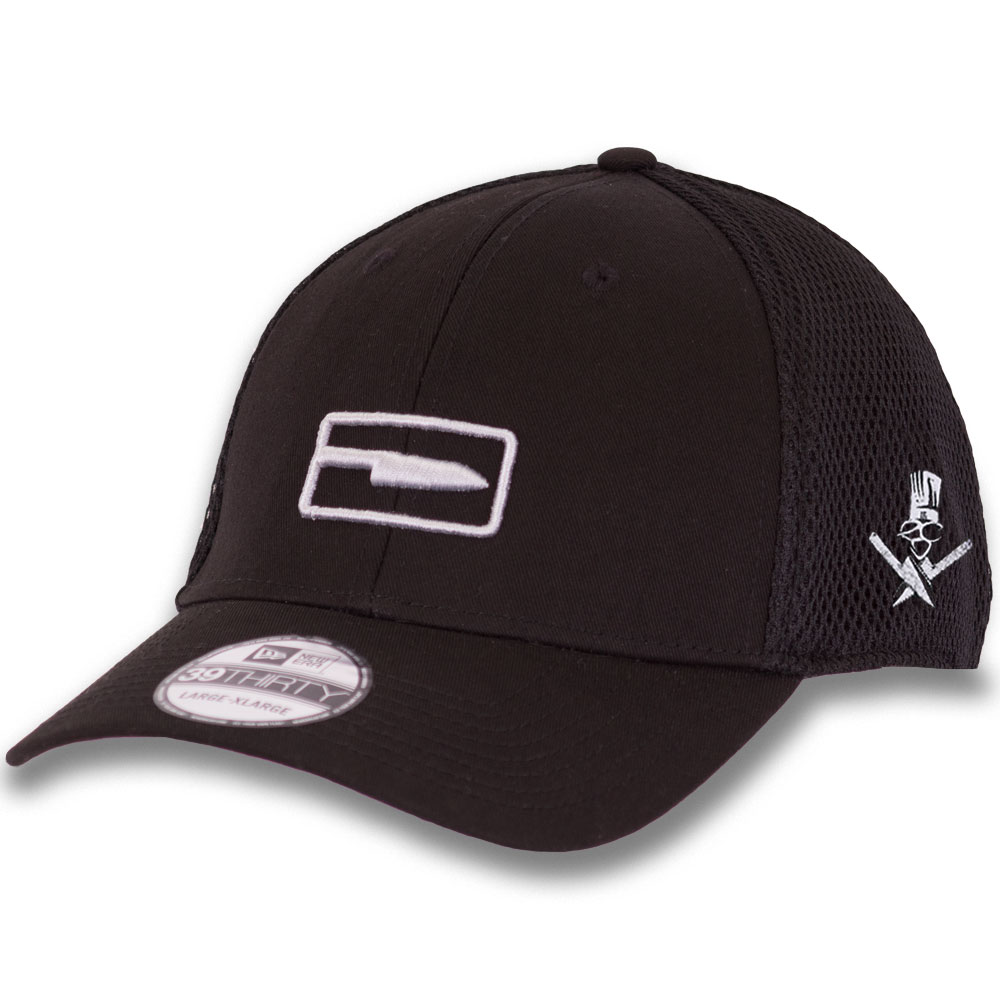 9fc0a8e1dc7bf Clean Cut stretch fitted black hat - Extreme Culinary Outfitters