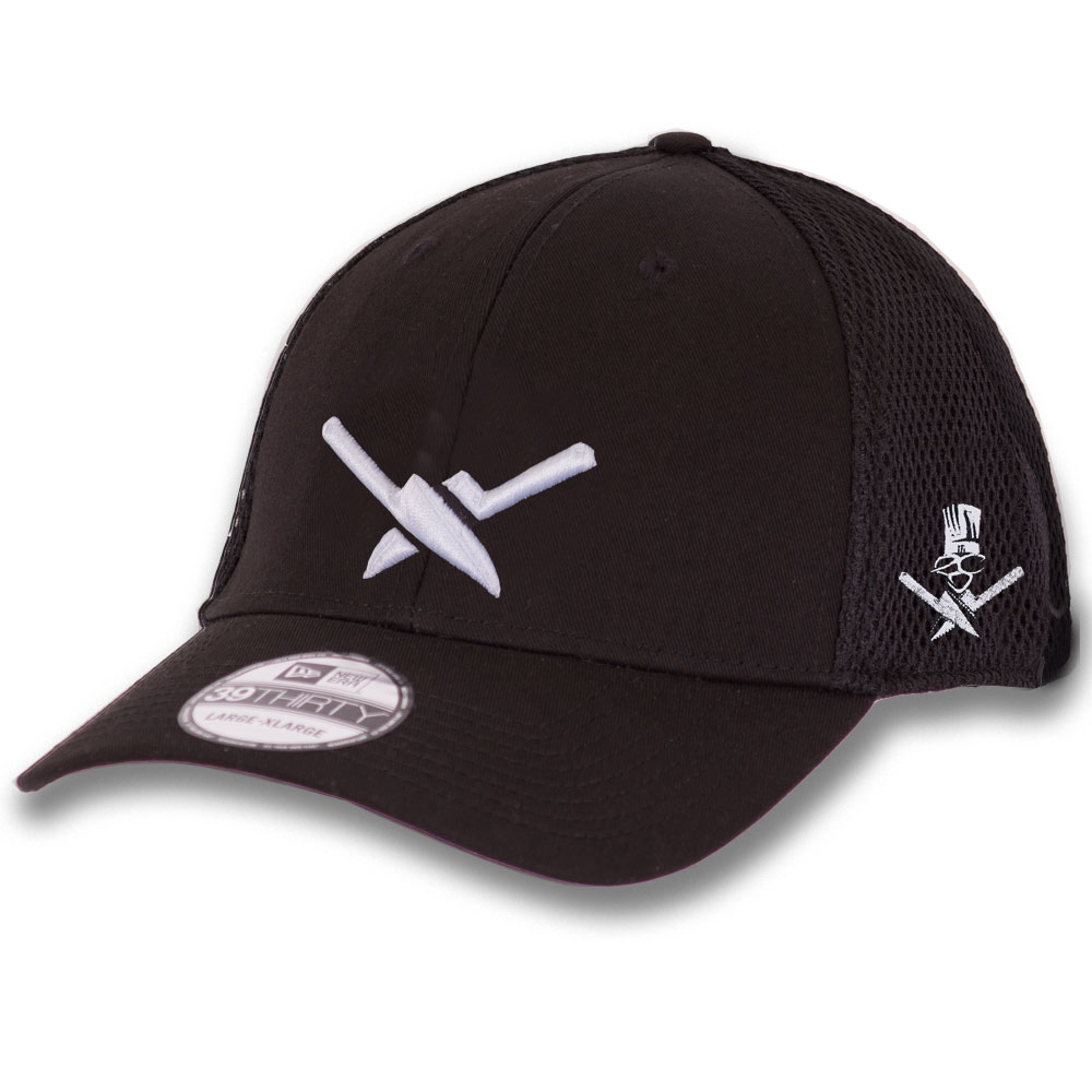 5cd60548f0a47 Cross Knives stretch fitted hat - Extreme Culinary Outfitters